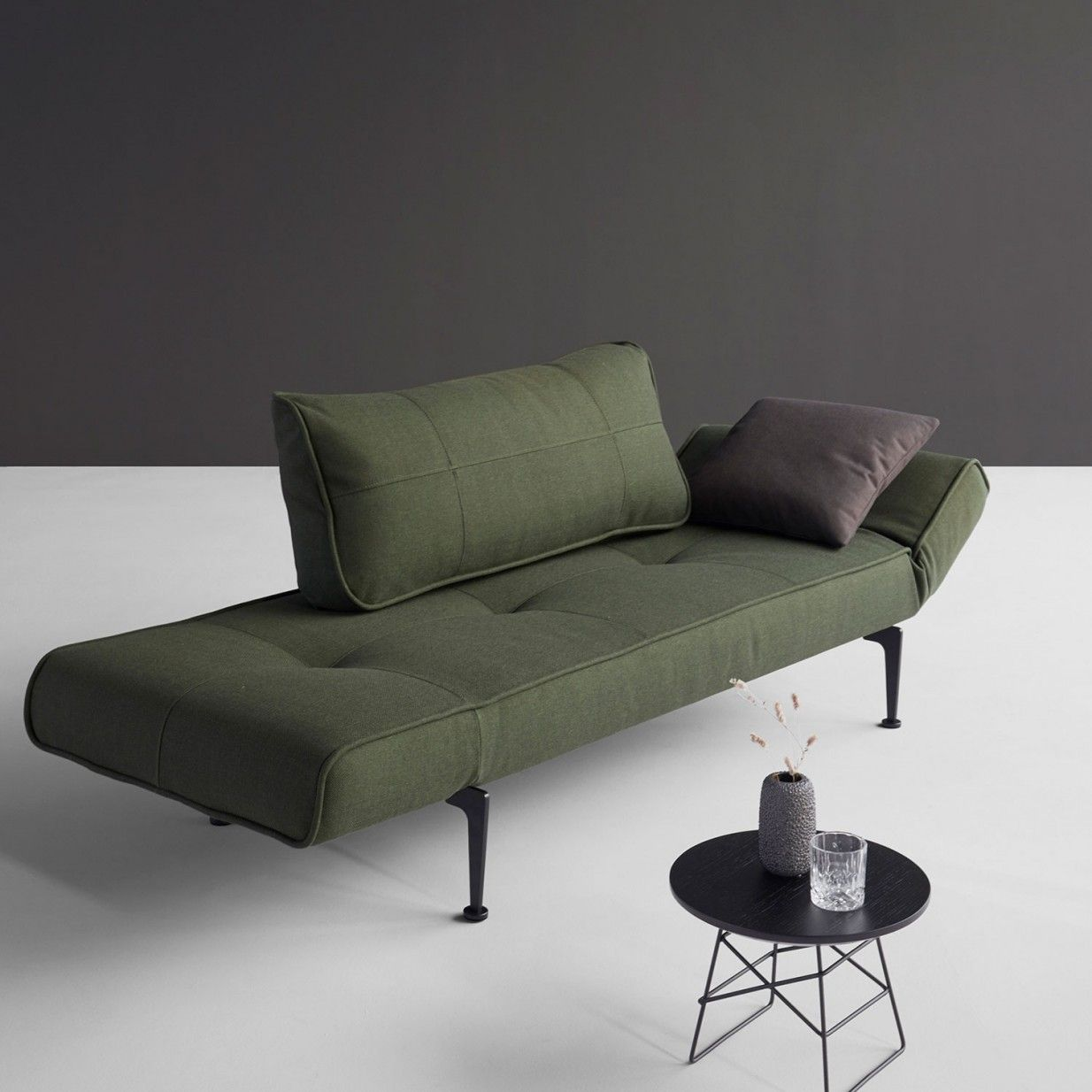 Innovation Schlafsofas Berlin Zeal Schlafsofa Grün Innovation Living Möbel Folding Sofa