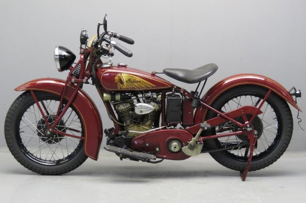 Indian 1938 Junior Scout 500 Cc Indian Junior Scout The New