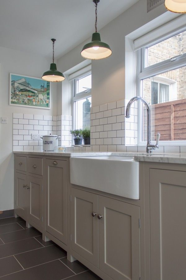 A galley with style | Galley kitchens, Kitchens uk and Devol kitchens