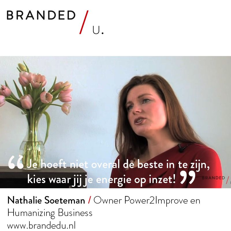 Nathalie Soeteman / Owner Power2Improve en Humanizing Business