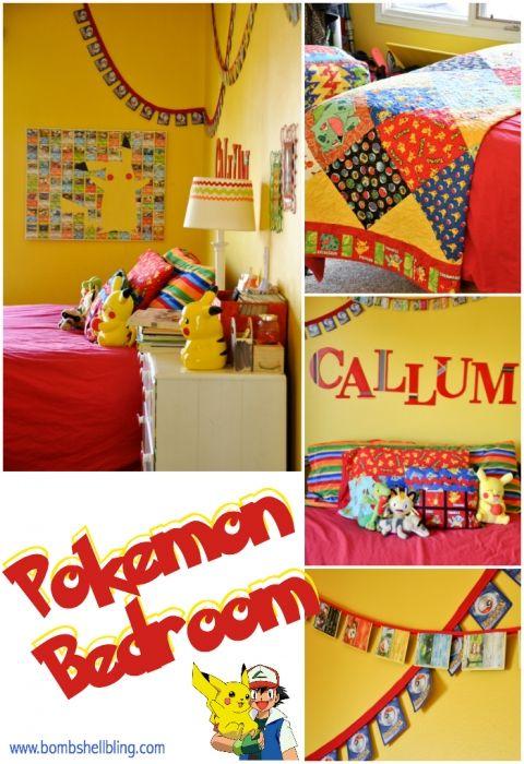 Pokemon Kid Bedroom Aaron S Room Makeover In 2019