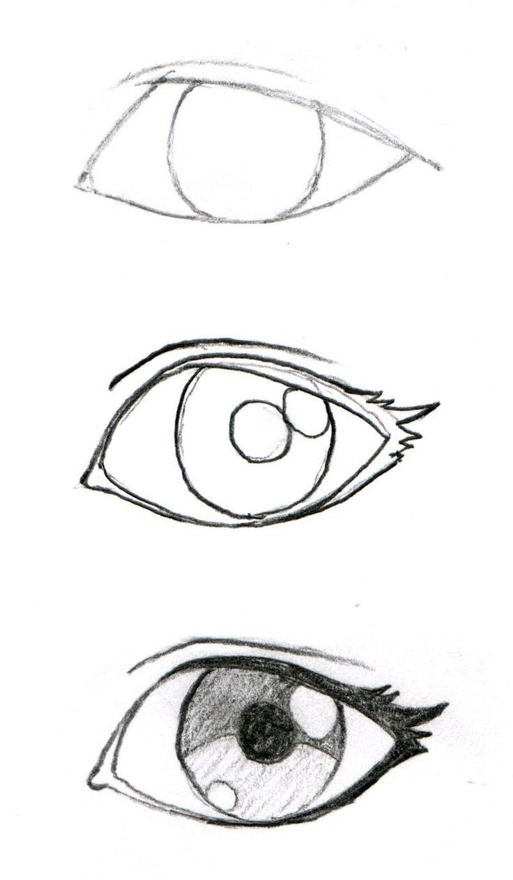 Dessin Facile à Faire How To Draw More Realistic Eye Dessin Facile à Faire En 2019