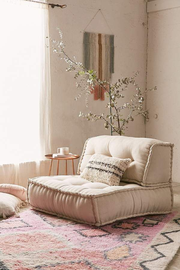 I Love This For Easy, Comfortable Floor Seating. Urban Outfitters Reema  Back Cushion #ad