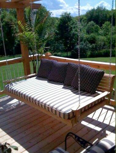 Porch bed idea
