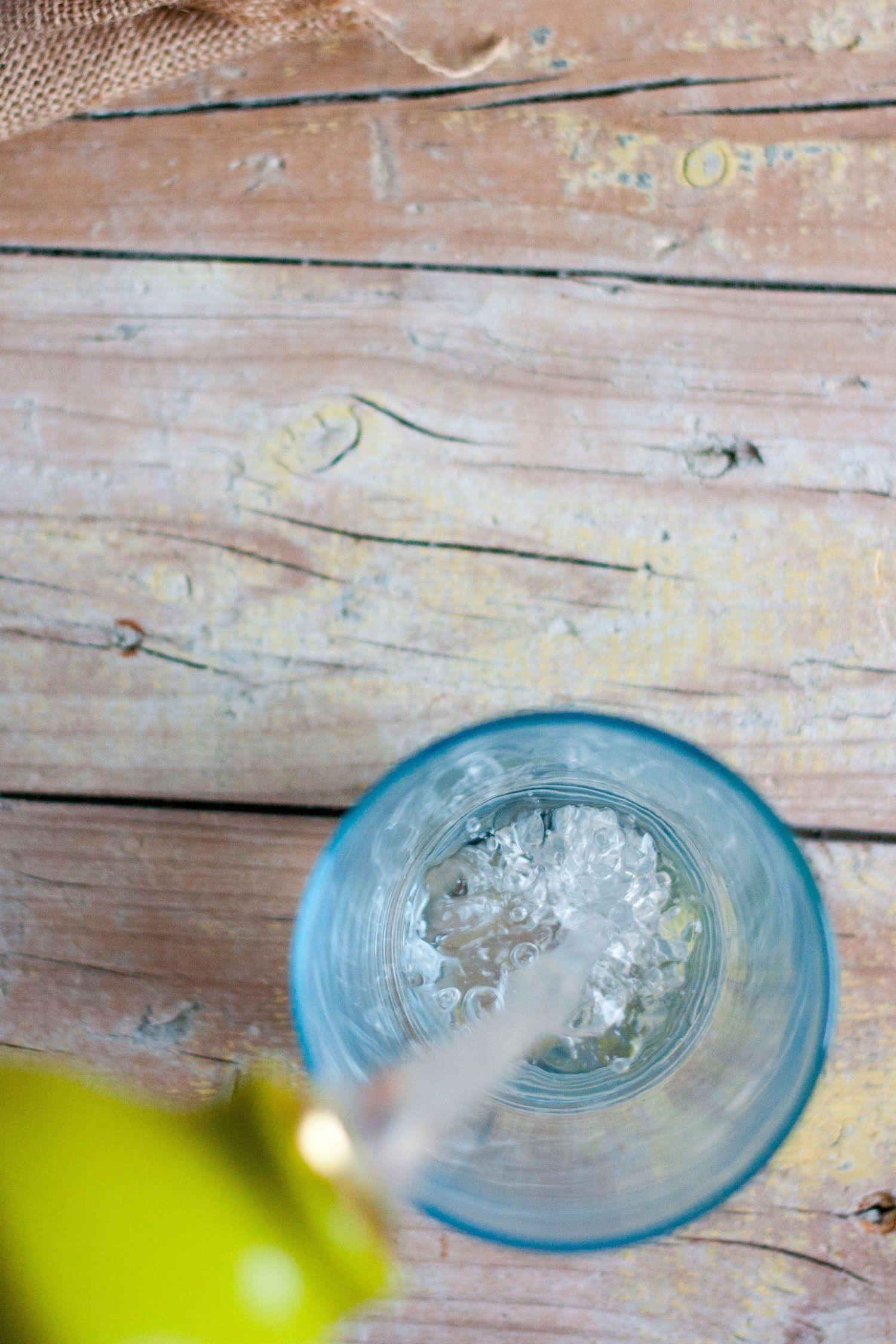 Vaso De Agua Agua Embotellada Agua