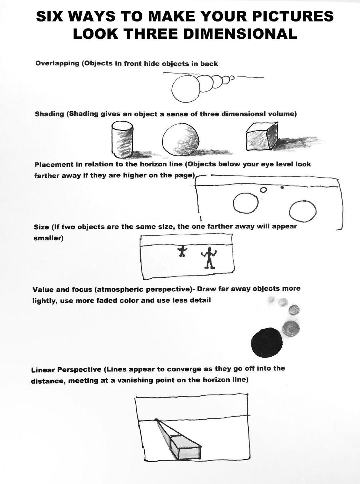 Op Art Lesson Worksheet