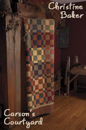 Carson's Courtyard | Primitive quilts, Primitives and Magazines : primitive quilts and projects magazine - Adamdwight.com