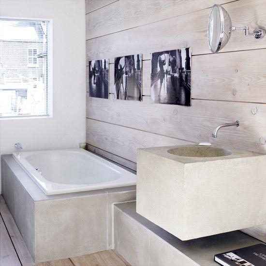 Rustikale modernes Bad Wohnideen Badezimmer Living Ideas Bathroom ...