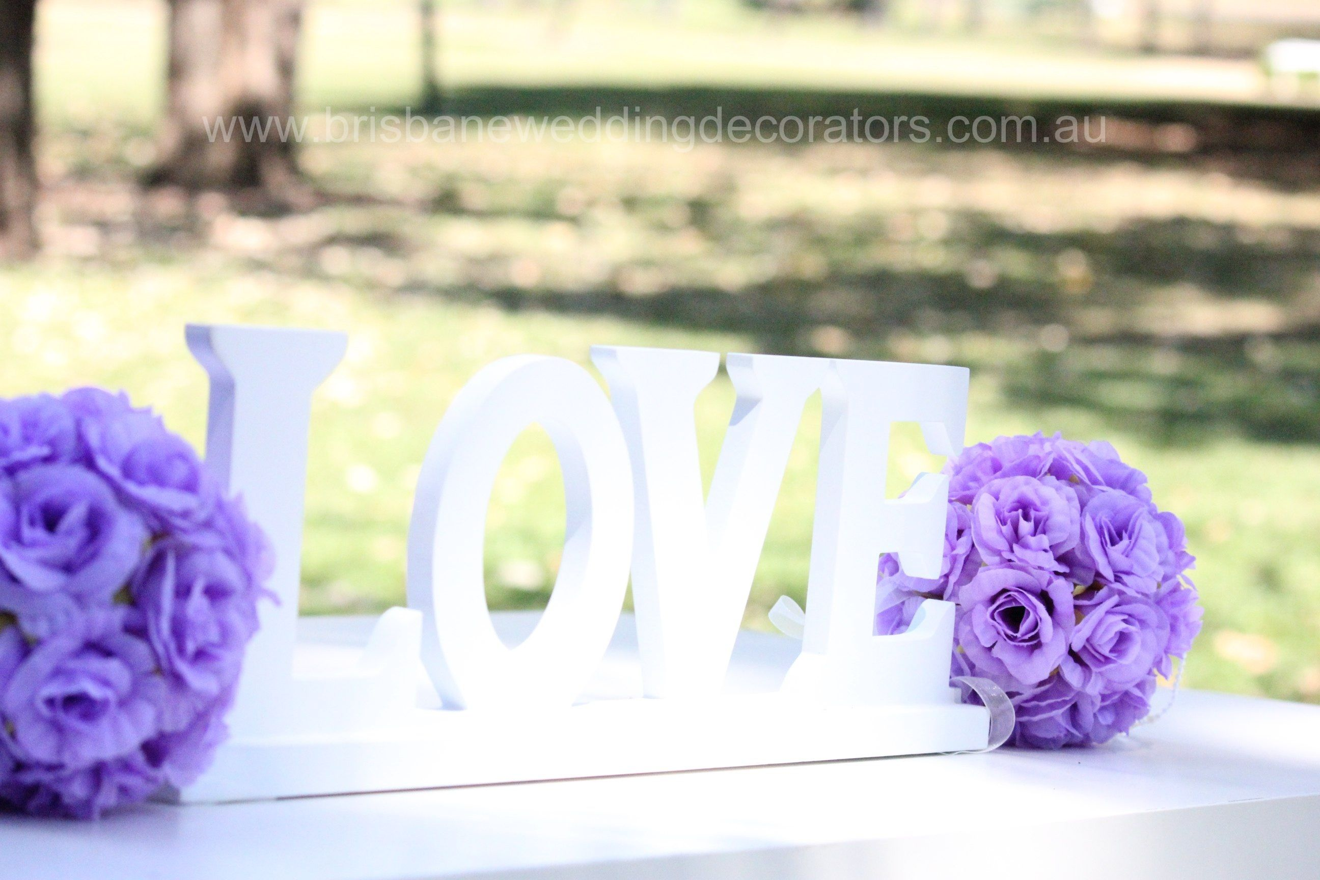 LOVE Signing Table Decor By Brisbane Wedding Decorators Brisbaneweddingdecoratorsau