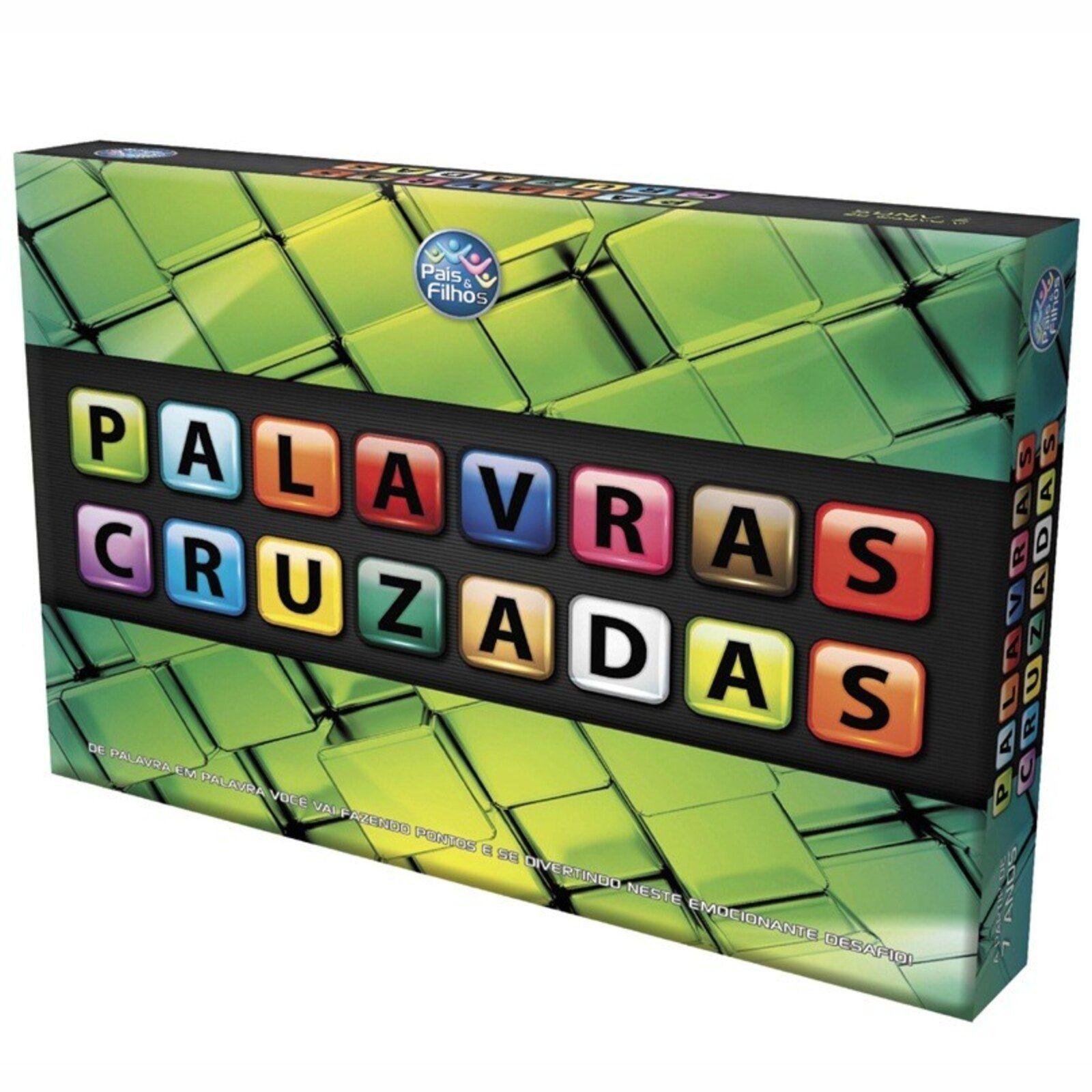 Jogo De Tabuleiro Pais E Filhos Palavras Cruzadas Multicolorido Jogos De Tabuleiro Jogos De Palavras Cruzadas Cruzadas