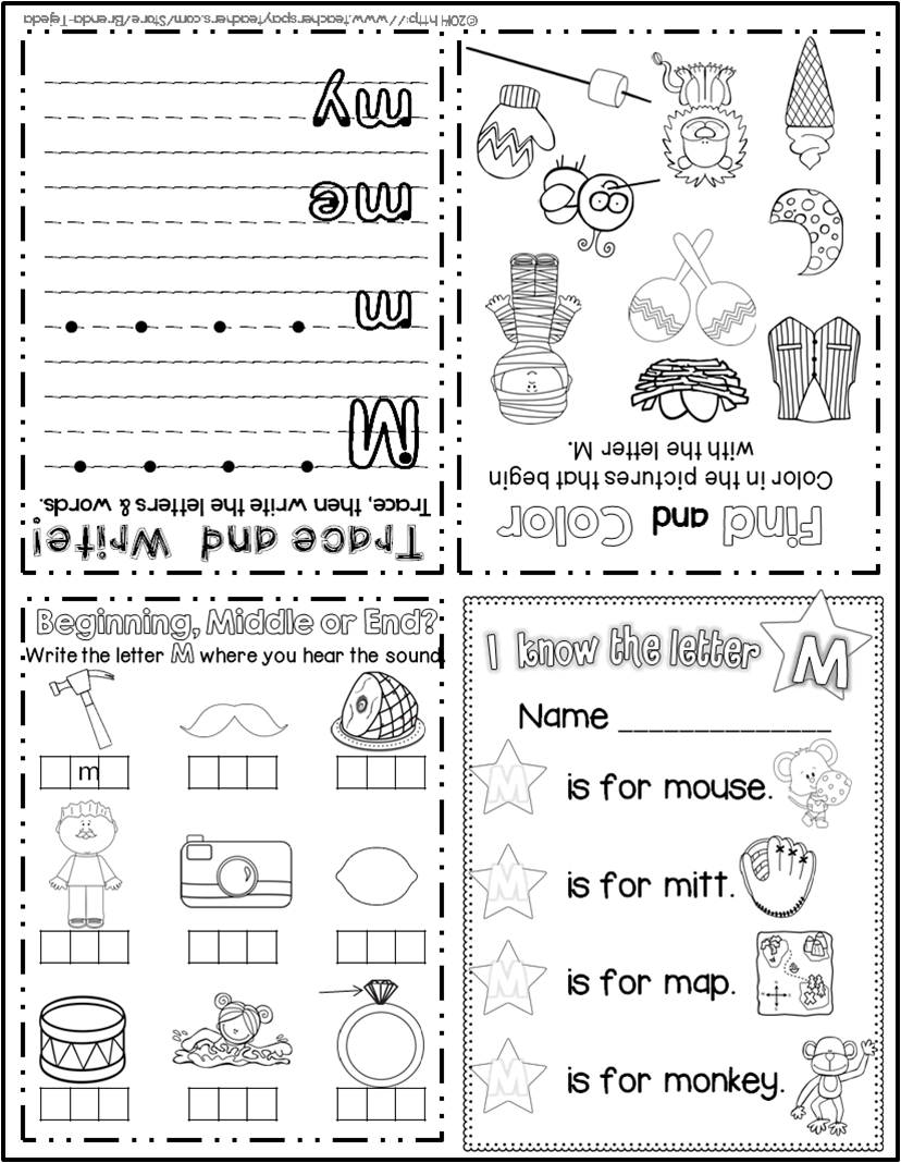 FREE SAMPLE: Alphabet Foldable Activity Books- 2 free
