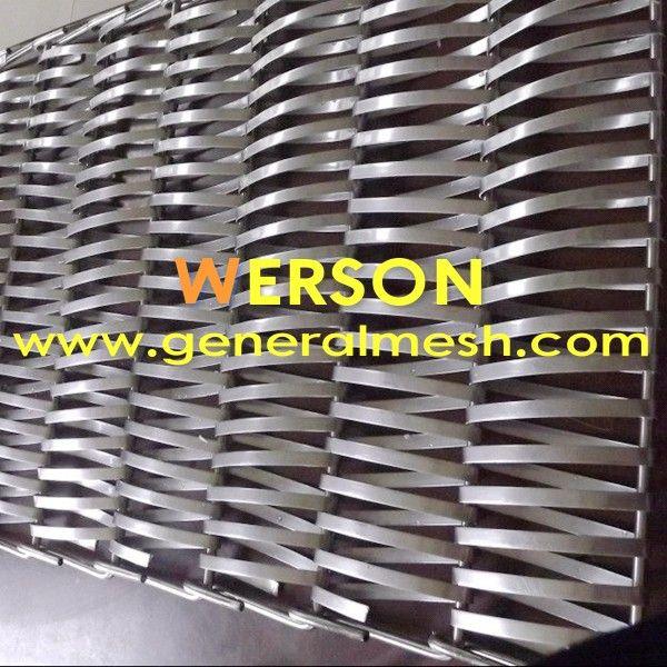 generalmesh mallas de acero para fachadas,Tejidos espiral metálicos
