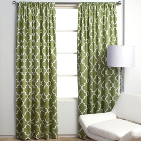 Apple Green Mimosa Panel Curtains From Zgallerie Cute Green Curtains Contemporary Curtains Green Drapes