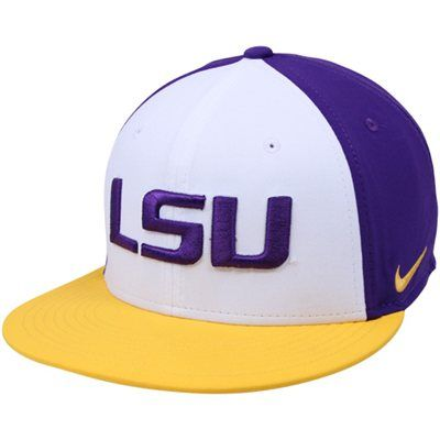 7160412e ... 50% off nike lsu tigers true snapback hat purple white gold 43003 d7cb6