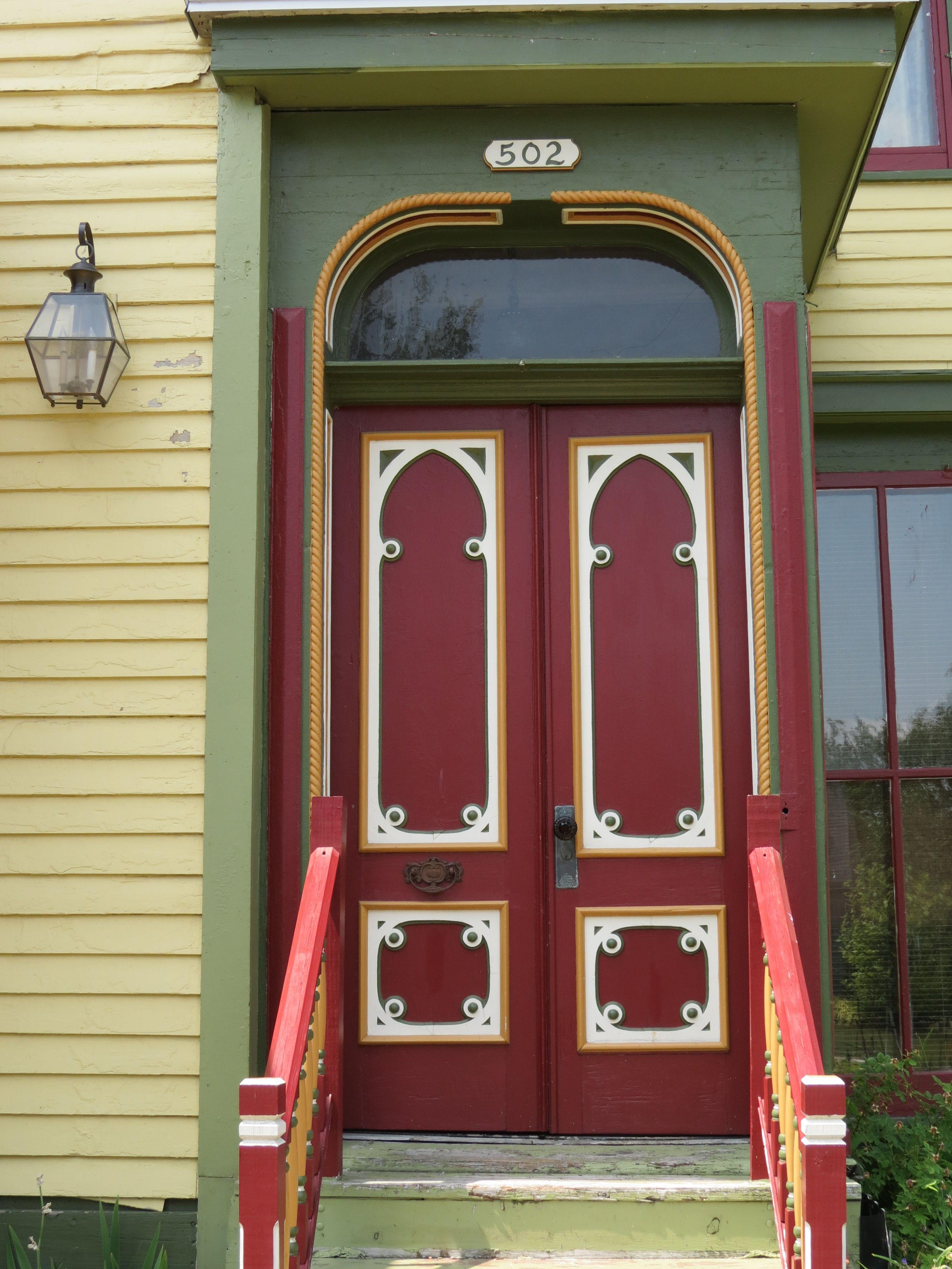 Front door detail of our 1860u0027s Italianate. Muskegon MI. & Front door detail of our 1860u0027s Italianate. Muskegon MI. | Muskegon ...