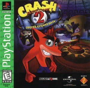 Complete Crash Bandicoot 2 Cortex Strikes Back Greatest Hits Ps1 Game Crash Bandicoot 2 Crash Bandicoot Bandicoot