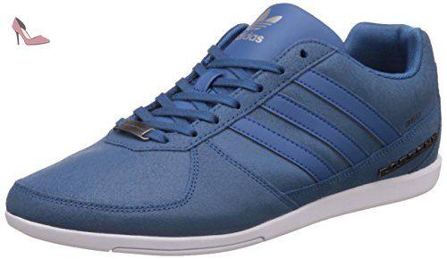 d2a07897729f5 adidas , Chaussures de ville à lacets pour homme bleu bleu - Chaussures  adidas (
