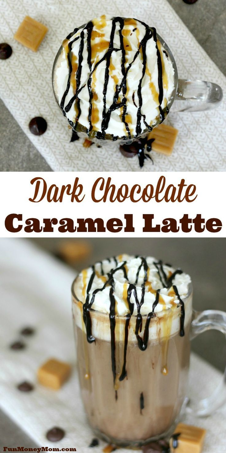 Do you have a hard time getting out of bed in the morning? This'll Dark Chocolate Caramel Latte will make it a lot easier! #CoffeehouseBlend #ad