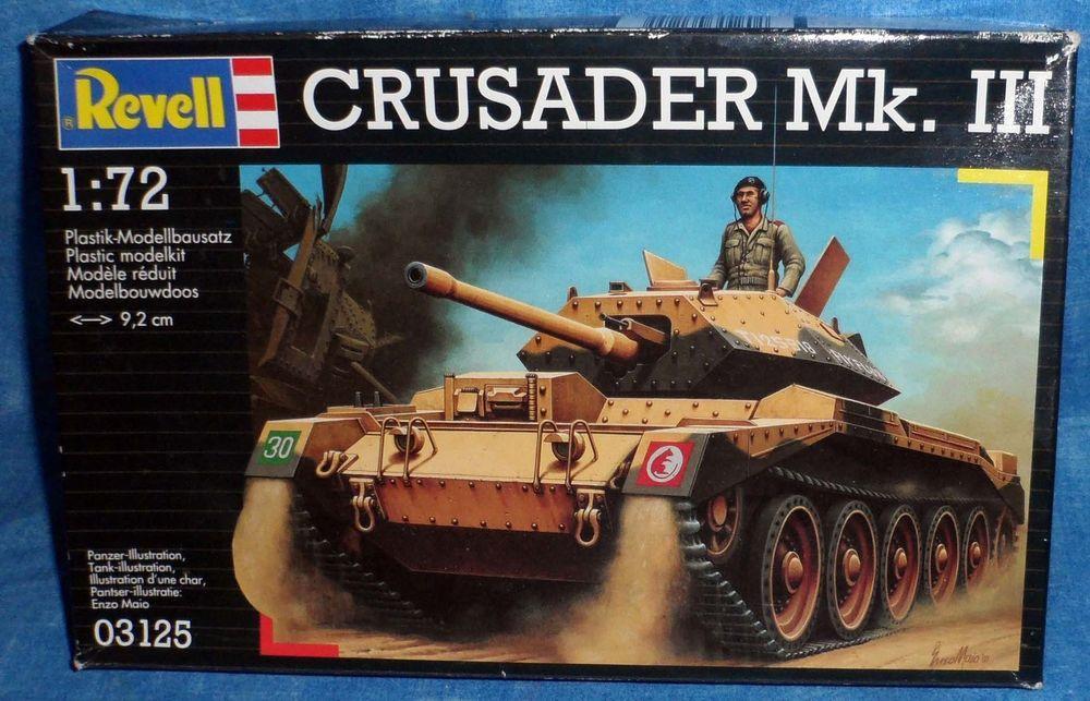 Revell Model Military Tank Crusader Mk Iii Figurine 1 72 2001 D6 Revell Tanks Military Military Revell