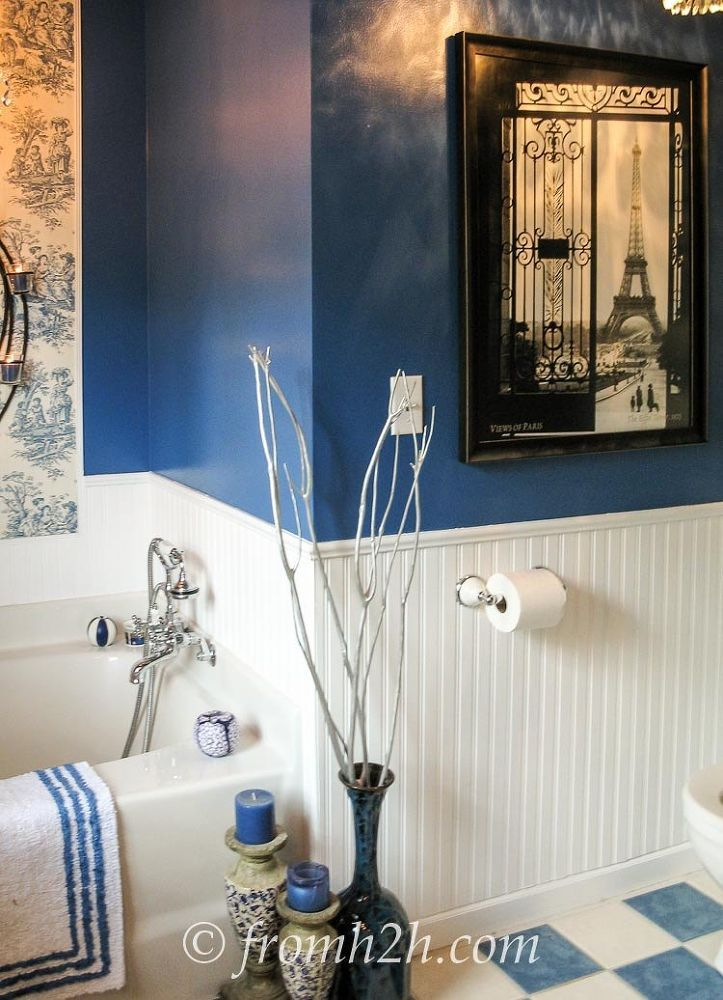 How To Beautify a Boring Builder Grade Bathroom