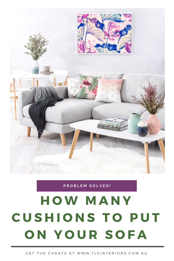 Your Guide To Cushions On Sofas Styling How Many And More