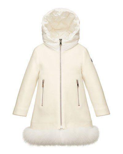 83003b228 Jalia Hooded Fur-Trim Jacket