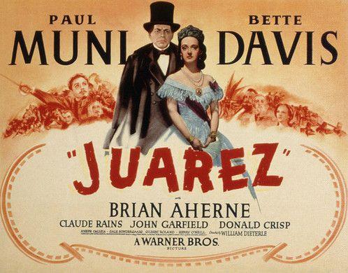 Image result for juarez 1939 POSTER