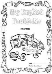English Portfolio Cover Page Portfolio Covers School Book Covers Teacher Portfolio,Tribal Nordic Tattoo Designs