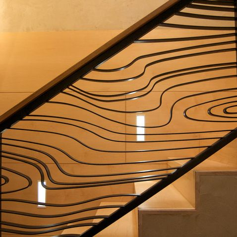 Best Railing From Raw Urth Design Современная Лестница 400 x 300