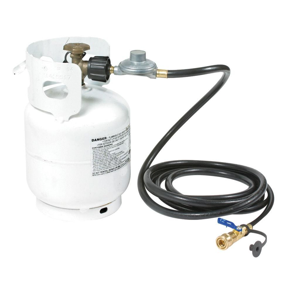 Camco Lp Hose Quick Connect To Acme Propane Cylinder Connection Home Depot