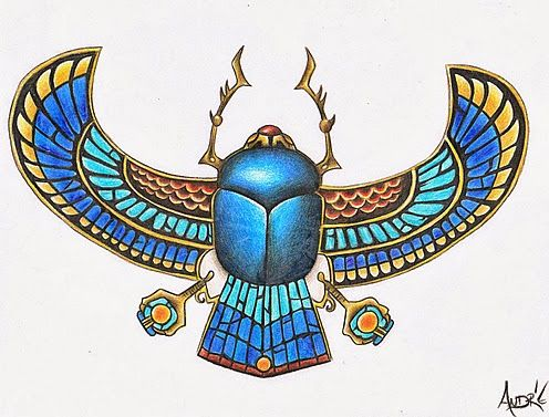 Stone Scarab With Wings By 1shotandree Jpg 496 377 Egyptian Art Ancient Egyptian Art Egyptian Tattoo