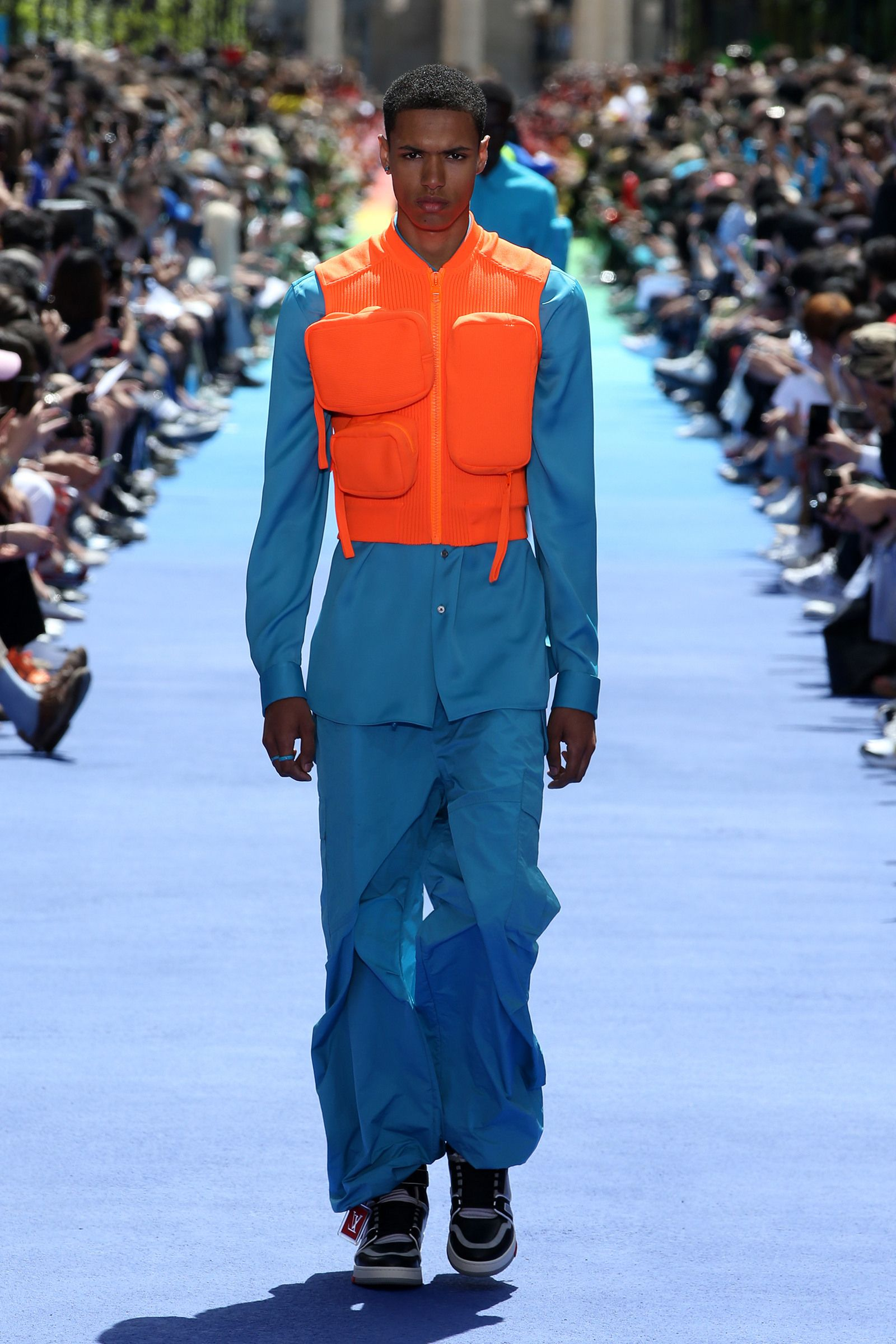 3a0b4dbbe027 A look from the Louis Vuitton Men s Spring-Summer 2019 Collection ...