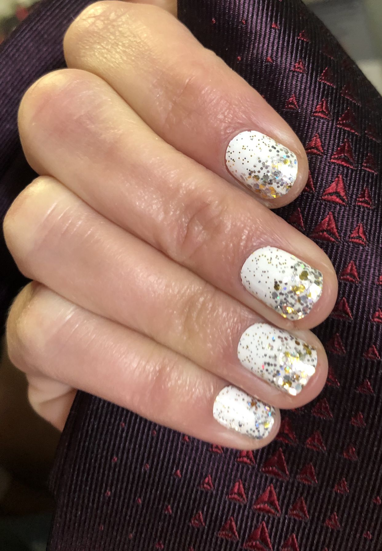 Champagne Wishes Meet Passport Plum Mycolorstreet Com Nailfun Color Street Nails Hair And Nails Nail Colors