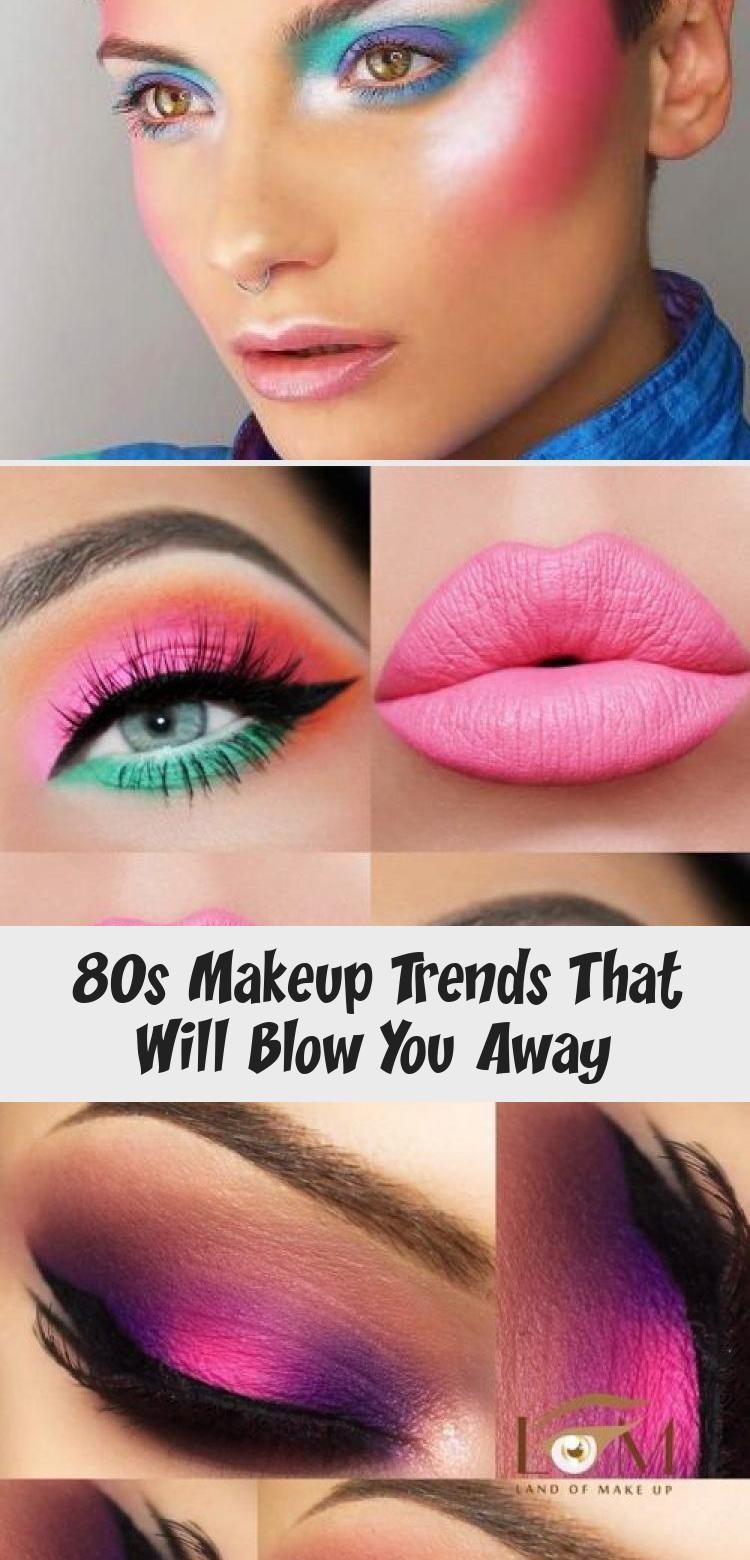 80er Jahre Make Up Trends Die Sie Umhauen Werden Make Up Rosa