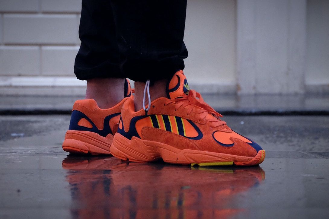 low priced b84c2 76536 Adidas Yung 1 Orange