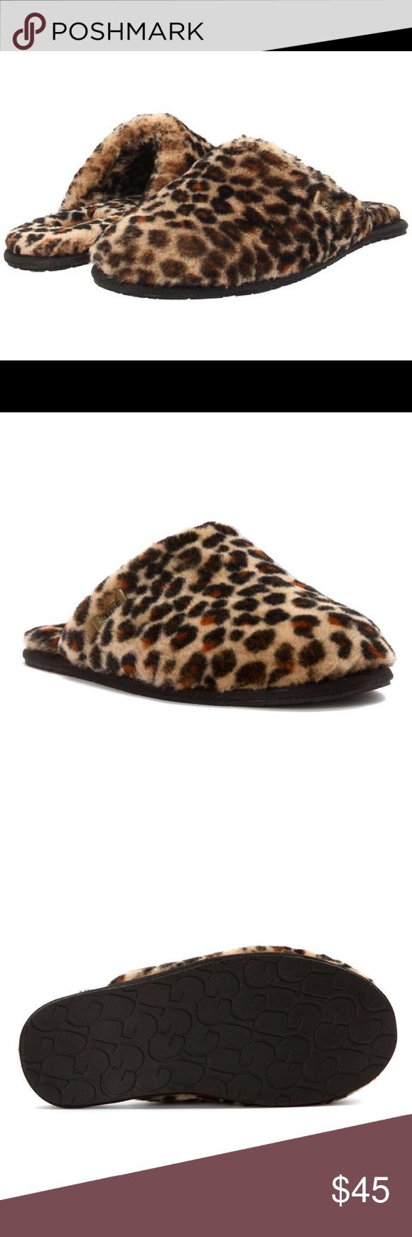 9e87721e9ec Women's UGG Australia Leopard Clog Slide Slippers Never worn. Soft ...