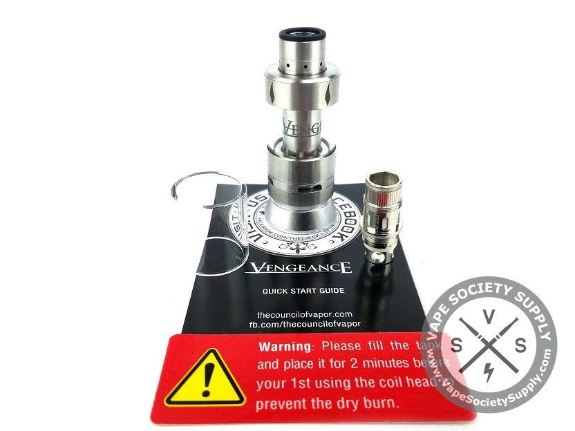 Vengeance Sub Ohm Tank By Council Of Vapor Products I Love