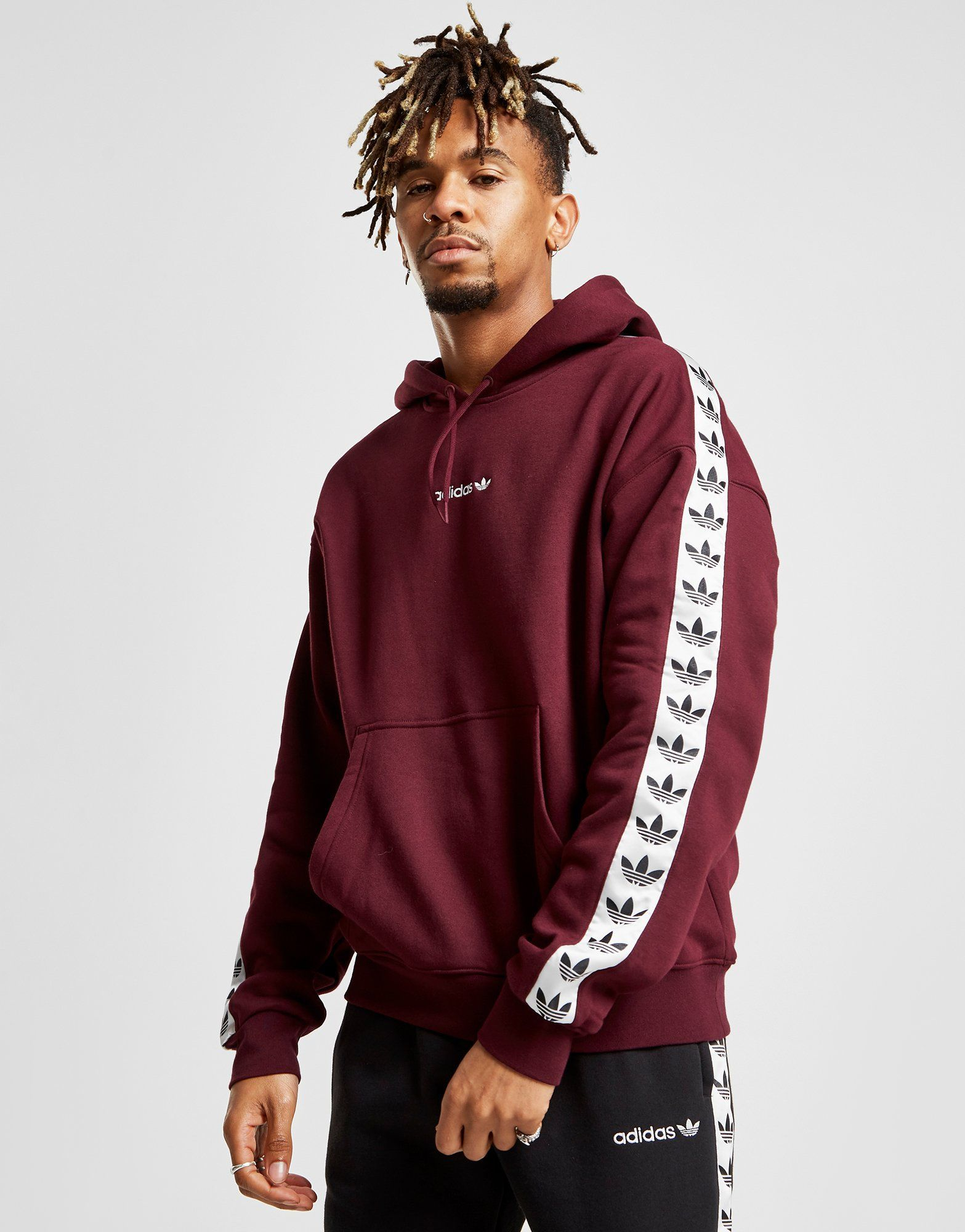 coupon codes wholesale sales pretty nice adidas Originals Tape Overhead Hoodie in 2019 | Hoodies, Jd ...