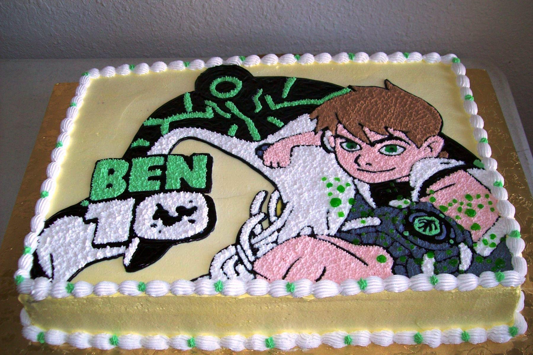 pastel de Ben 10