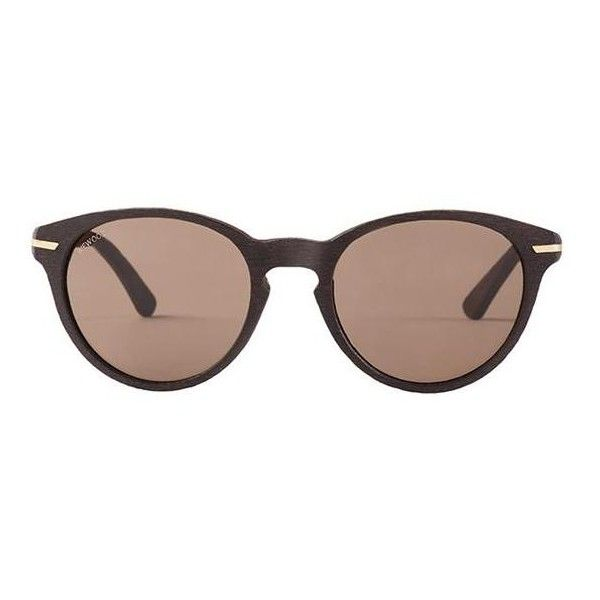 WeWood Cotton Sunglasses - Xipe Brown/Gold with Brown Tint Lens 8240 -... (€105) ❤ liked on Polyvore featuring accessories, eyewear, sunglasses, brown tinted sunglasses, gold lens sunglasses, gold sunglasses, tinted sunglasses and lightweight sunglasses