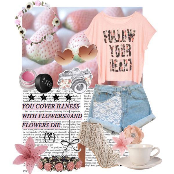 """follow your heart"" by caracullencakey on Polyvore"