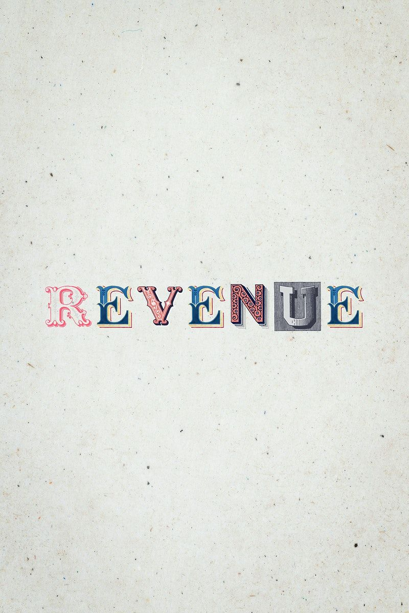 Revenue Word Antique Victorian Font Typography Free Image By Rawpixel Com Hein In 2020 Victorian Fonts Free Illustrations Typography Fonts