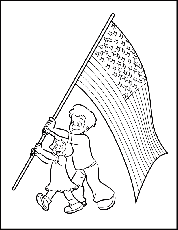 flag day coloring pages  flag coloring pages coloring