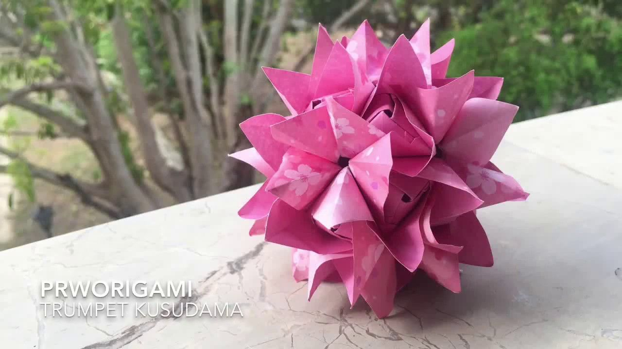 Valentine's Day Crafts- Origami Rose - How to Fold Origami Flower ... | 720x1280