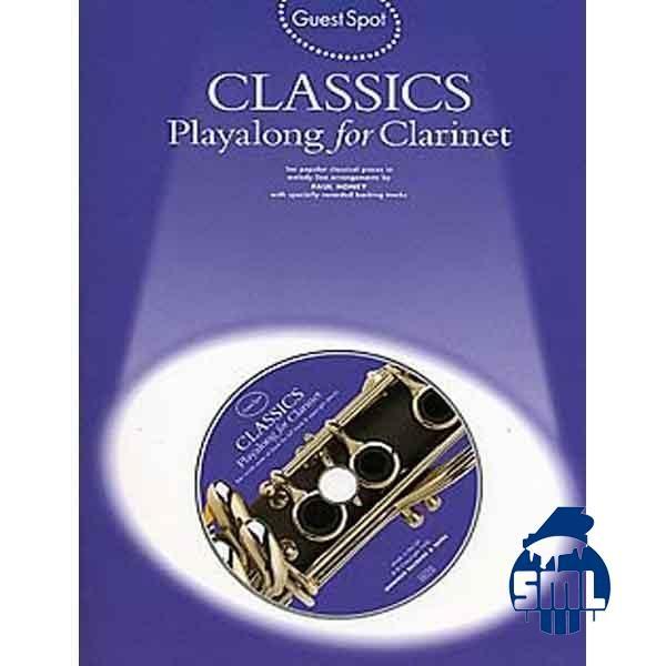 Clássicos para clarinete, toque com o CD que acompanha o livro.