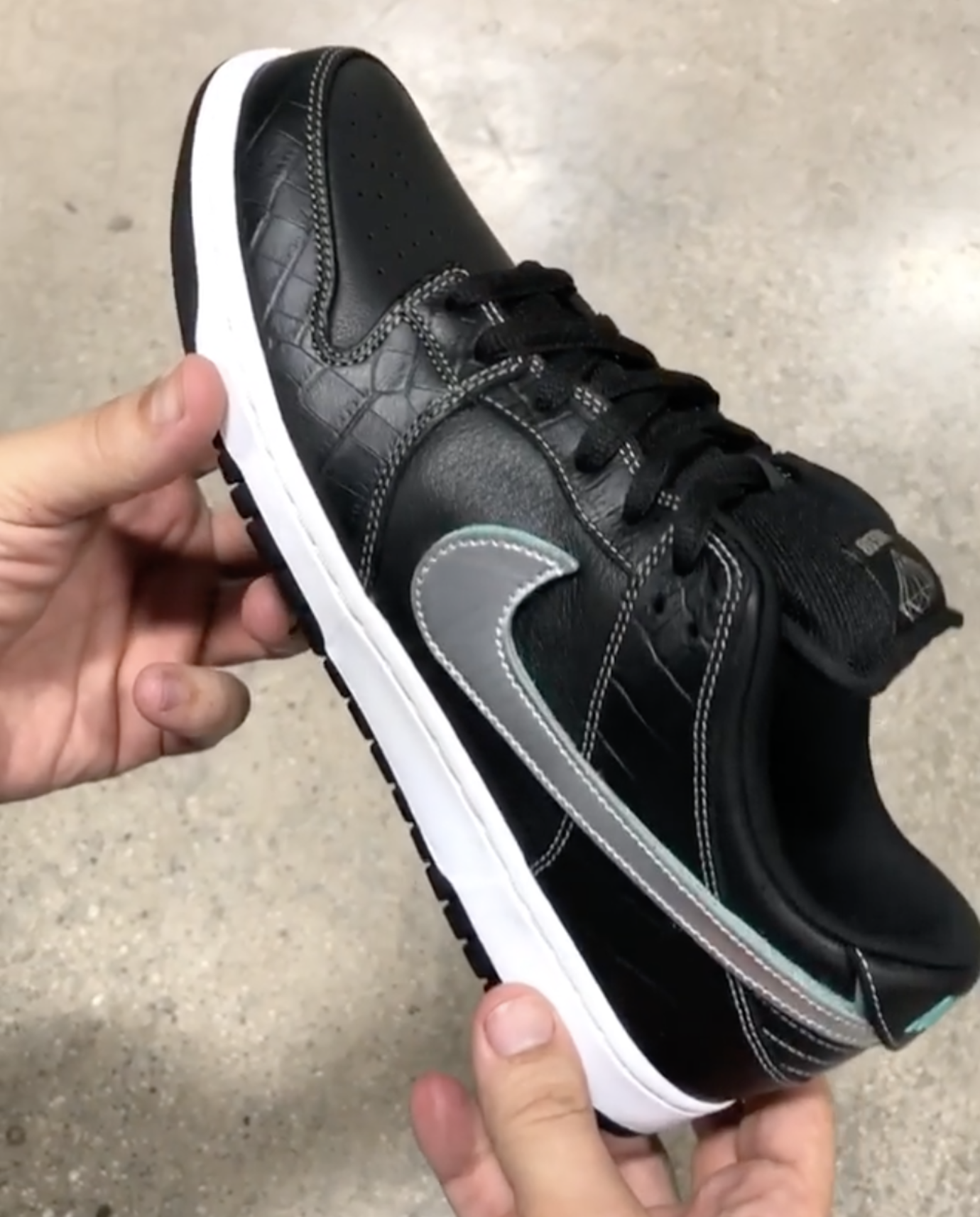 Diamond Supply Co. x Nike SB Dunk Low  Black Diamond  Release Date ... 4e70e743c