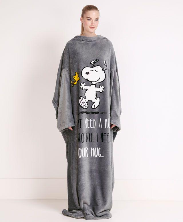 14b8e10f11 Bata manta Snoopy - OYSHO Pijamas Lindas