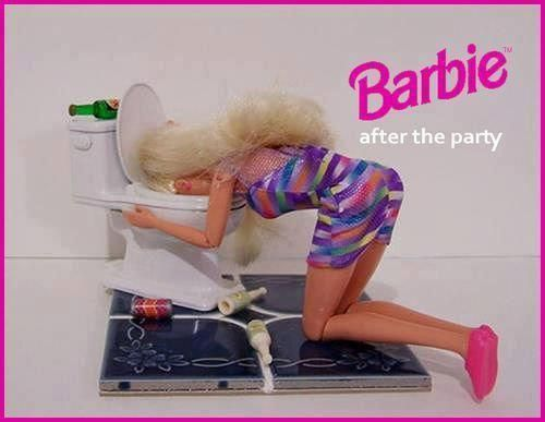 Barby after the party