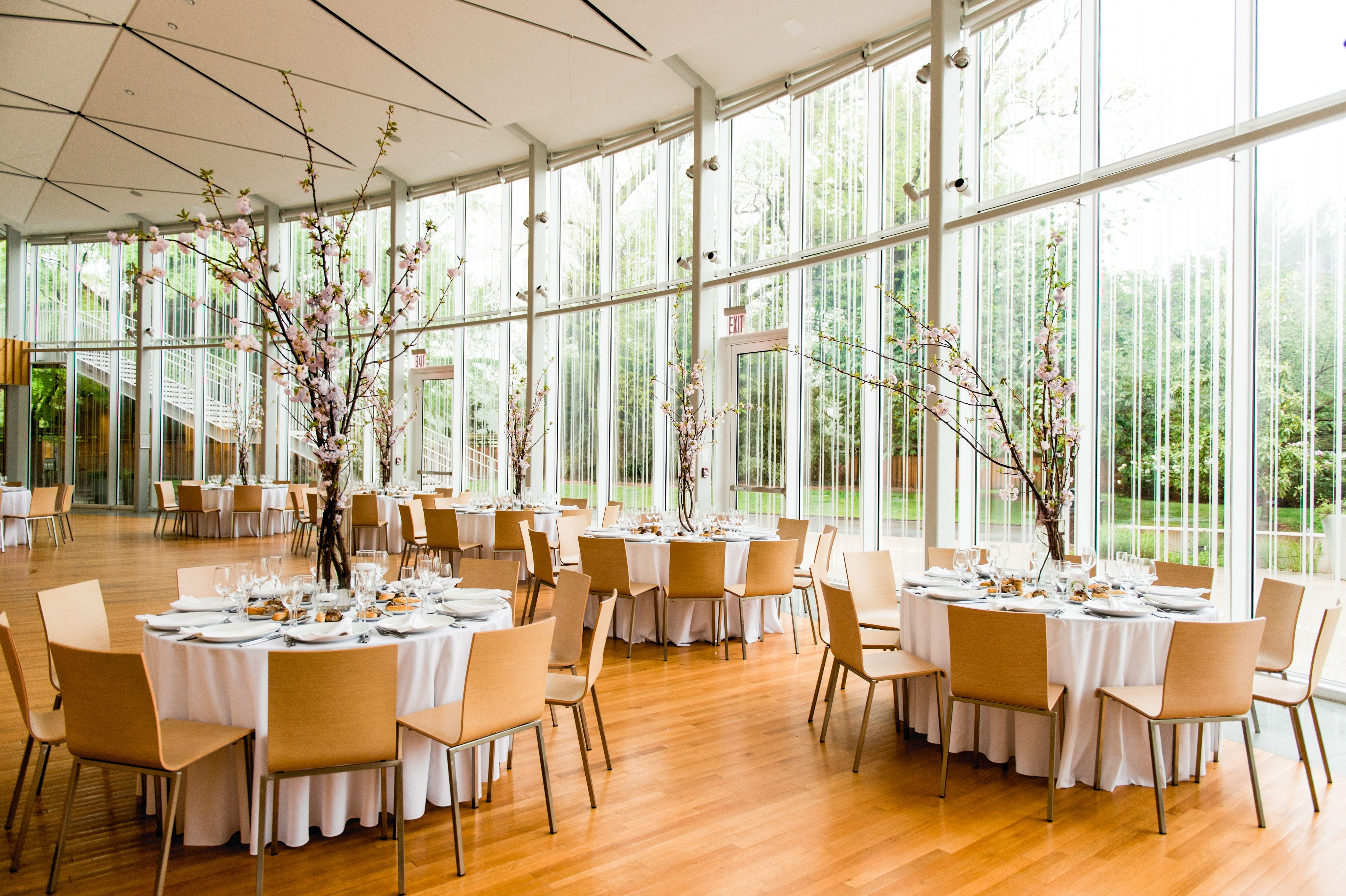 The Atrium is a space for any reception, offering