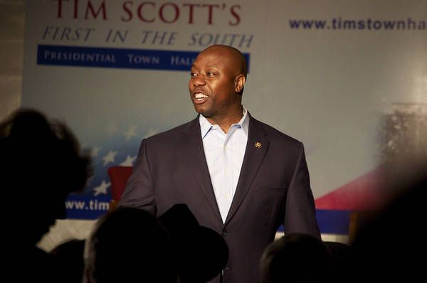 """Update December 17th, 2012:As long suspected by South Carolina political 'insiders', Congressman Tim Scott has been selected by Nikki Haley to take DeMint's place in the U.S. Senate.Haley announced today at the State Housethat Scott will fill the seat until the 2014 election, making him the """"first African-American Republican to serve in"""